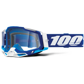 100% Racecraft Anti-Fog Goggles Gen2, blue/clear